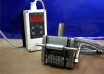 Hot marking numbering head with temperature regulator