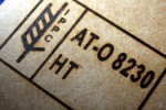 Marking on wood with branding iron