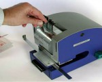 Electric perforating machine with adjustable wheels - Perfostar ES/Z - How to use