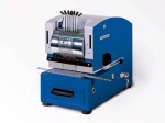 Electric perforating machine with adjustable wheels - Perfostar ES/Z