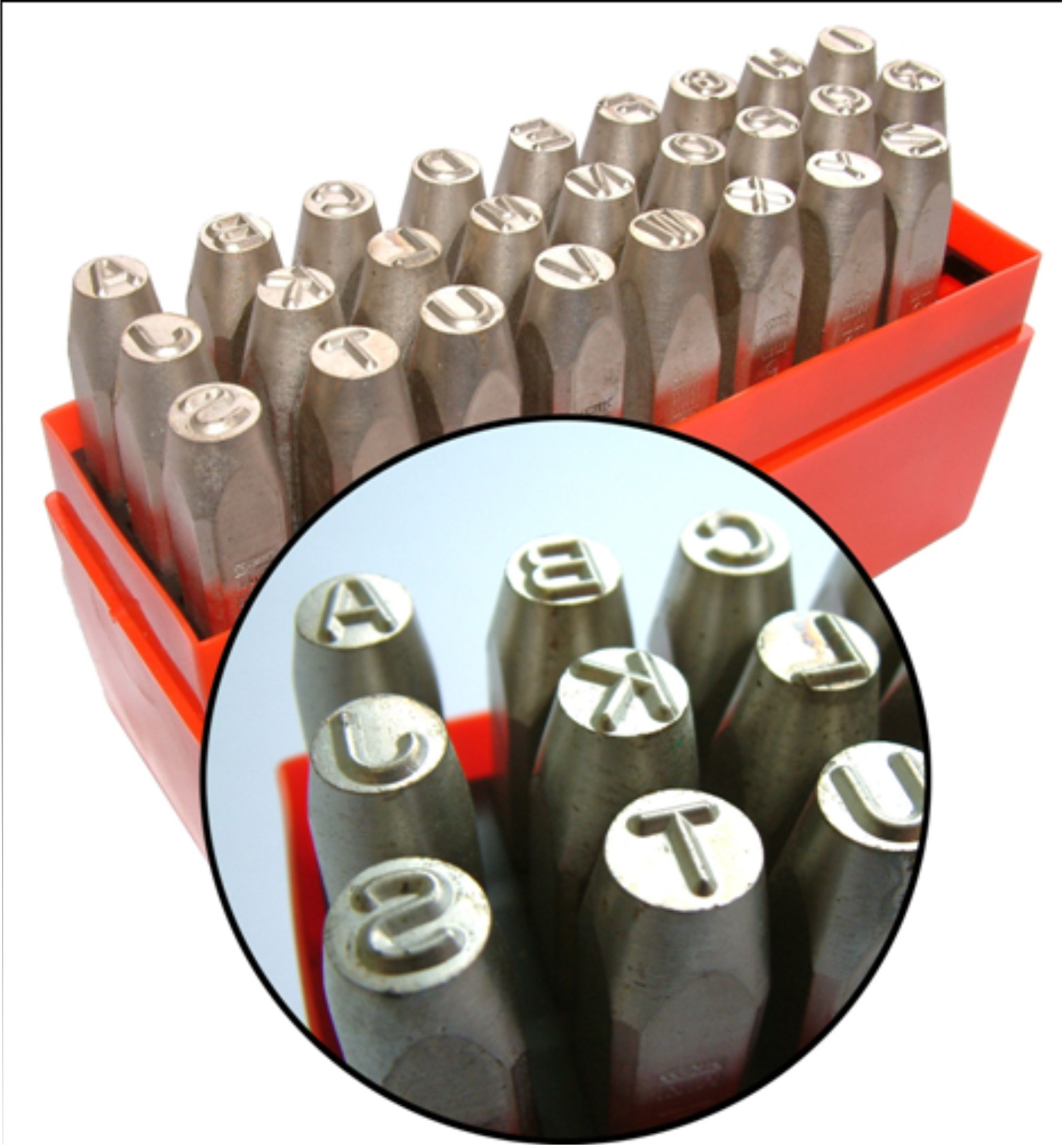 Hand Steel Stamp Punch Manual Punch Set